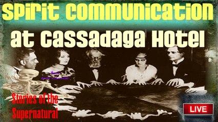 Spirit Communication at Cassadaga Hotel | Dowsing & Ovilus Session | Stories of the Supernatural