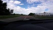 Belgique : Un automobiliste détruit son Audi RS3 sur le circuit de Chimay !