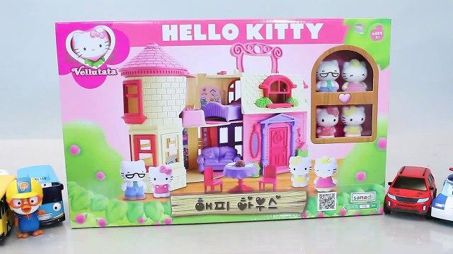 헬로키티 해피하우스 타요 폴리 뽀로로 장난감 인형 Hello Kitty Toys Doll