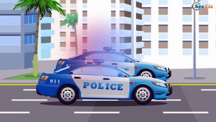 Полицейская Машинка Быстрый Патруль Мультфильмы про МАШИНКИ Развивающие видео для детей