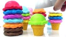Best Learning Video for Preschool Kids Children Ice Cream Cones Cones Colors Video