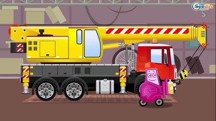 Гоночная машина Гонки в Городе Мультфильмы про МАШИНКИ Развивающие видео для детей