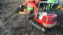 Bruder Construction Vehicles Toys for Kids - Diggers, Bulldozers, Dump Truck, Excavators, Backhoe