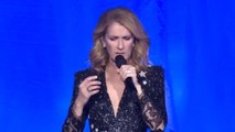 Celine Dion Chokes Back Tears at First Concert After Las Vegas Shooting
