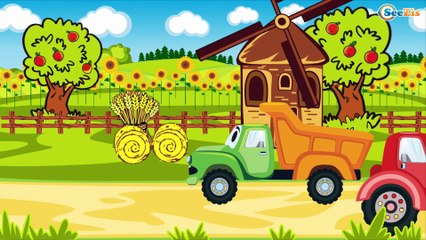 Детские видео - Трактор Павлик - Детские Мультики про Машинки - Мультфильмы для детей