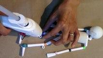 Paper & Plastic Bead Skeleton Marionette Part 2