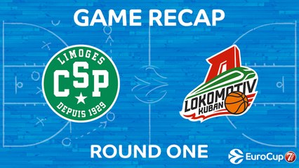 7Days EuroCup Highlights Regular Season, Round 1: Limoges 61-63 Lokomotiv
