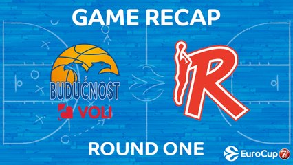 7Days EuroCup Highlights Regular Season, Round 1: Buducnost 82-74 Reggio Emilia