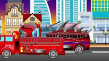 scary garbage truck | formation and uses for children | garbage truck | scary video for children