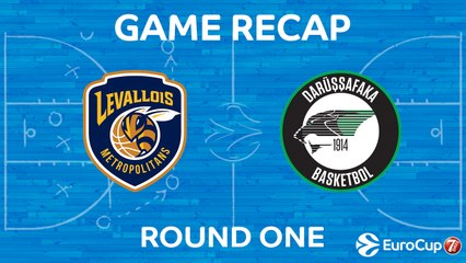 7Days EuroCup Highlights Regular Season, Round 1: Levallois 64-69 Darussafaka