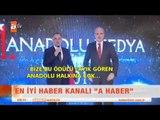 ATV ve A Haber'e 2 ödül birden - atv Kahvaltı Haberleri