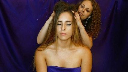 Nico! The Fabulous Hair & Scalp Massage Model – Relaxing Whisper for Sleep, 3Dio