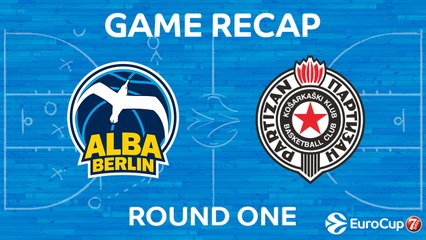 7Days EuroCup Highlights Regular Season, Round 1: ALBA Berlin 111-85 Partizan