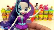 MLP Equestria Girls Rarity Sürpriz Yumurta Oyun Hamuru - My Little Pony Cicibiciler Emojiler