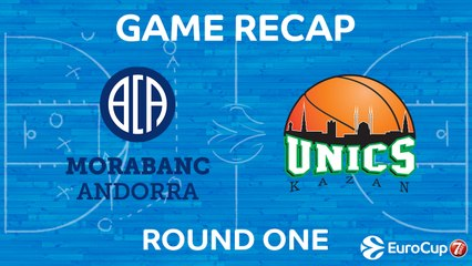 7Days EuroCup Highlights Regular Season, Round 1:  Morabanc Andorra 68-76 UNICS