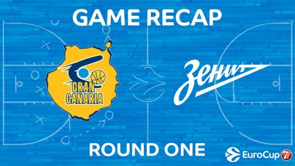 7Days EuroCup Highlights Regular Season, Round 1: Gran Canaria 97-87 Zenit
