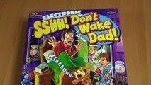 DON´T WAKE DAD !! Psst.. Papa nicht aufwecken ! Zzzz - Elektronisches Brettspiel mit Spaßfaktor