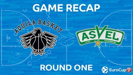7Days EuroCup Highlights Regular Season, Round 1: Trento 85-75 ASVEL