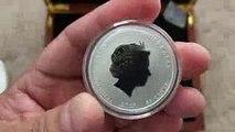 2018 Australian Lunar Series 2 Dog Silver Bullion Coins - 0.5, oz 1 oz, 2 oz and 10 oz