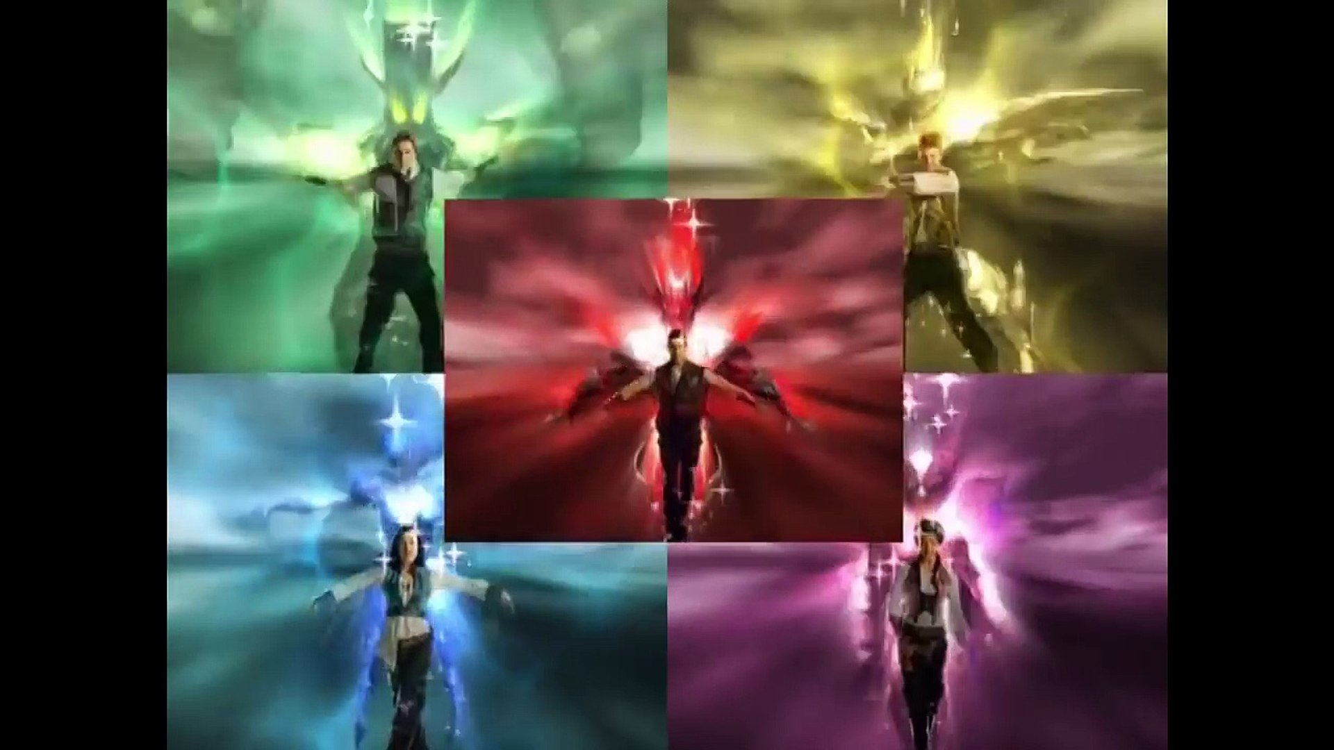 Power Rangers Forca Mistica Abertura Video Dailymotion