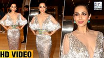 Malaika Arora FLAUNTS Her Cleavage On The Red Carpet
