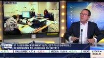 """""""Nous sommes dansun marché qui se porte bien avec une tension sur les rémunérations qui vont à la hausse"""", Fabrice Coudray - 12/01"""