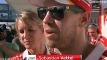 F1 2017 Japanese GP Post Race Sebastian Vettel Interview after DNF