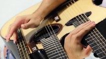 Il joue du Gorillaz sur une guitare à 3 manches !! FEEL GOOD INC