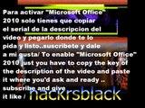 Microsoft Office 2010 Product Key serial Working as of [Sep 2013] funciona 100%