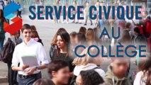 Témoignages de deux volontaires engagés en « Service Civique » au collège de l'Europe à Bourg-de-Péage (Drôme)
