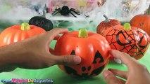 Calabazas SORPRESA Con Juguetes y Huevos Para El Dia de Las Brujas o Halloween   Halloween Surprise
