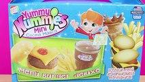 Yummy Nummies juego de cocinar Menú de Hamburguesa | La Nenuco Princesa Cuca come hamburguesa