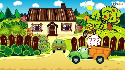 The Blue Monster Truck and Racing Cars - The Big Race in the City of Cars Cartoons for Children