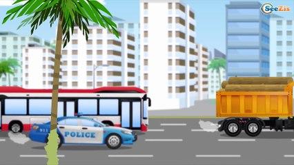 СБОРНИК: Мультики про МАШИНКИ Скорая помощь и Полиция спешат на помощь - Развивающие видео для детей