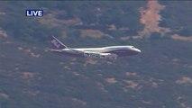 Un canadair Boeing 747 pour lutter contre l'incendie en Californie !