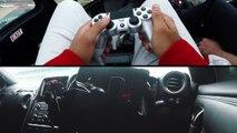 Pilotez une vraie voiture de course avec une manette de PS4 !  Nissan GT-R