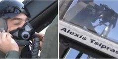 """Top Gun"" ο Αλέξης Τσίπρας! Με F-16D στο Αιγαίο με τον Α/ΓΕΕΘΑ και τον Α/ΓΕΑ!"