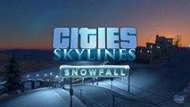 Cities Skylines - Bande-annonce de l'extension Snowfall