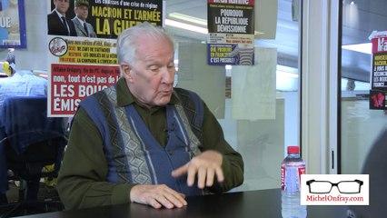 """Michel Onfray : """"Ça s'appelle le talion la violence défensive"""""""