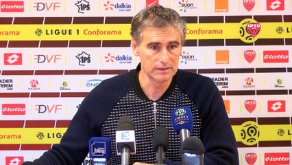 DFCO-PSG : conférence d'avant match d'Olivier Dall'Oglio