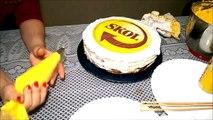 Bolo Skol com latinha/Bolo cerveja/decorando bolo simples com chantilly. - Culinária em Casa