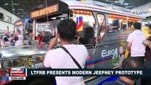 LTFRB presents modern jeepney prototype