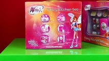 WinX Club Fancy Kitchen Set Refrigerator, Kettle and Microwave Oven
