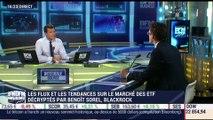 """Marché des ETF: """"les financières US sont à leur record depuis 2013 en termes de flux"""", Benoit Sorel - 12/10"""