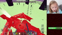 ENDER DRAGON BATTLE - Going to the End ❑ Minecraft PE