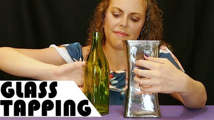 Microphone in Antique Bottles & Other Glass Tapping – ASMR Ear to Ear Mostly No Talking