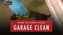 Keep Your Garage Clean With The Grime Magnet
