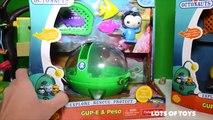 Octonauts and Paw Patrol Adventures! Rescue Bots Medix, Air Patroller, Gup, Julius Jr, Disney Cars