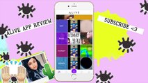Free Video Editing, Animating Titles And Transitions App ! // App Review - Alive