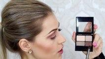 Maquiagem com Glitter para Festas Por Bárbara Thais